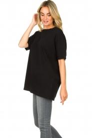 American Vintage    Oversized cotton T-shirt Sonoma   black    Picture 5
