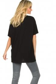 American Vintage |  Oversized cotton T-shirt Sonoma | black  | Picture 6