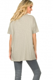 American Vintage |  Oversized cotton T-shirt Sonoma | grey  | Picture 7