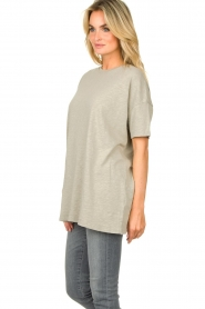 American Vintage |  Oversized cotton T-shirt Sonoma | grey  | Picture 6