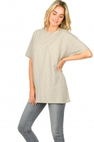 American Vintage |  Oversized cotton T-shirt Sonoma | grey  | Picture 4