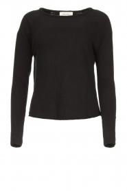 American Vintage |  Basic round neck T-shirt Sonoma | black  | Picture 1
