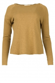 American Vintage |  Basic round neck T-shirt Sonoma | green  | Picture 1