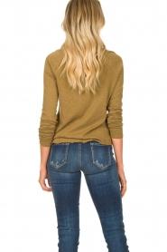 American Vintage | Basic ronde hals T-shirt Sonoma | groen  | Afbeelding 6