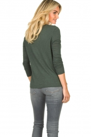 American Vintage |  Basic round neck T-shirt Jacksonville | green  | Picture 6