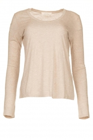 American Vintage |  Basic round neck T-shirt Jacksonville | natural  | Picture 1