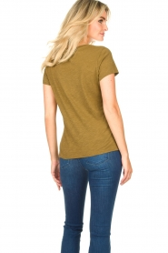 American Vintage |  Basic T-shirt with round neck Jacksonville | green  | Picture 5