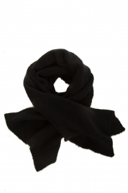 American Vintage |  Knitted scarf East | black