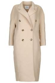 American Vintage |  Oversized wool blend coat Dado | beige  | Picture 1