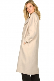 American Vintage |  Oversized wool blend coat Dado | beige  | Picture 5