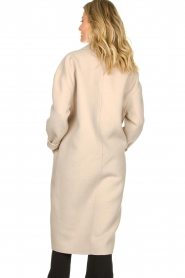 American Vintage |  Oversized wool blend coat Dado | beige  | Picture 6