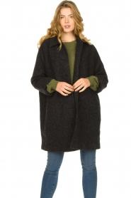 American Vintage    Wool coat Zalirow   grey    Picture 2