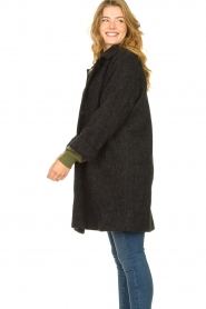 American Vintage    Wool coat Zalirow   grey    Picture 7