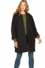 American Vintage    Wool coat Zalirow   grey    Picture 6