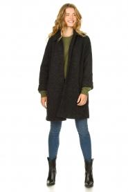 American Vintage    Wool coat Zalirow   grey    Picture 3