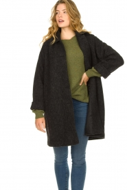 American Vintage    Wool coat Zalirow   grey    Picture 5