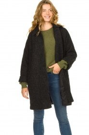 American Vintage    Wool coat Zalirow   grey    Picture 4