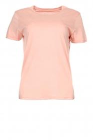 American Vintage |  Basic T-shirt Vegiflower | pink  | Picture 1