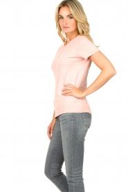 American Vintage |  Basic T-shirt Vegiflower | pink  | Picture 4