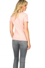American Vintage |  Basic T-shirt Vegiflower | pink  | Picture 5