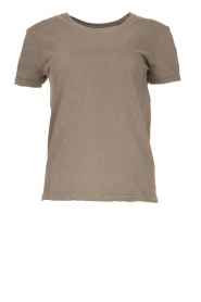 American Vintage |  Basic T-shirt Vegiflower | grey  | Picture 1