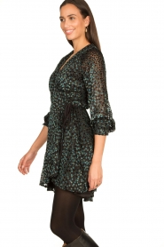 Freebird |  Velvet wrap dress Bora | black  | Picture 6