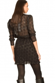 Freebird |  See-through blouse Riva | black  | Picture 5