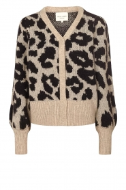 Lolly's Laundry |  Leopard cardigan Laura | animal print  | Picture 1