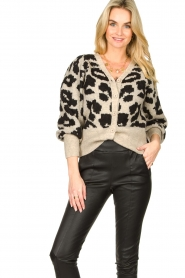 Lolly's Laundry |  Leopard cardigan Laura | animal print  | Picture 4