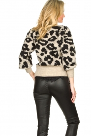 Lolly's Laundry |  Leopard cardigan Laura | animal print  | Picture 6