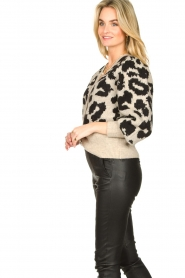 Lolly's Laundry |  Leopard cardigan Laura | animal print  | Picture 5