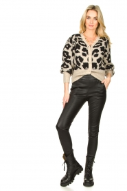 Lolly's Laundry |  Leopard cardigan Laura | animal print  | Picture 3