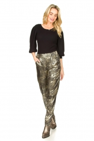 Lolly's Laundry |  Lurex pants Gonna | metallic  | Picture 3