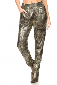 Lolly's Laundry |  Lurex pants Gonna | metallic  | Picture 4