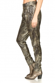 Lolly's Laundry |  Lurex pants Gonna | metallic  | Picture 5