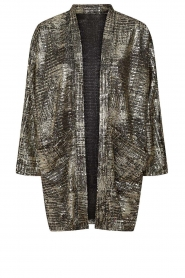 Lolly's Laundry |  Lurex kimono Kimmi | metallic  | Picture 1