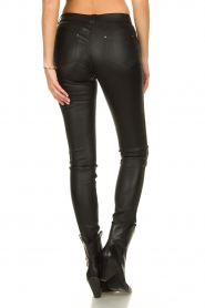 Ibana |  Leather stretch pants Tarte Tatin | black  | Picture 7