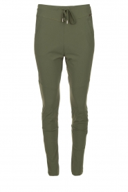 D-ETOILES CASIOPE |  Travelwear pants Guet | green