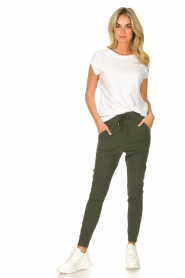 D-ETOILES CASIOPE |  Travelwear pants Guet | green  | Picture 2