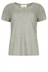 American Vintage |  Basic round neck T-shirt Jacksonville | grey  | Picture 1