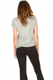 American Vintage |  Basic round neck T-shirt Jacksonville | grey  | Picture 6