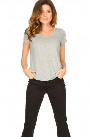 American Vintage |  Basic round neck T-shirt Jacksonville | grey  | Picture 2