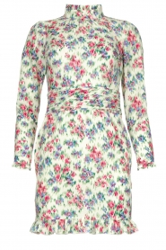 Notes Du Nord |  Floral dress Shelly | light green  | Picture 1