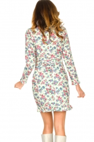 Notes Du Nord |  Floral dress Shelly | light green  | Picture 7