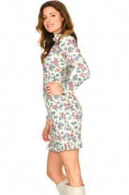 Notes Du Nord |  Floral dress Shelly | light green  | Picture 6