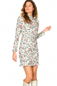 Notes Du Nord |  Floral dress Shelly | light green  | Picture 2