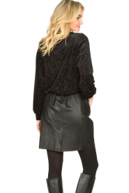 Dante 6 |  Leather skirt Eshvi | black  | Picture 5