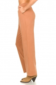 JC Sophie |  Wide pants with side pockets Fitou | pink  | Picture 5
