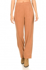 JC Sophie |  Wide pants with side pockets Fitou | pink  | Picture 4