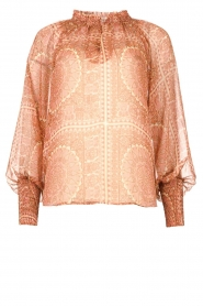 JC Sophie |  Printed blouse Fenn | pink  | Picture 1